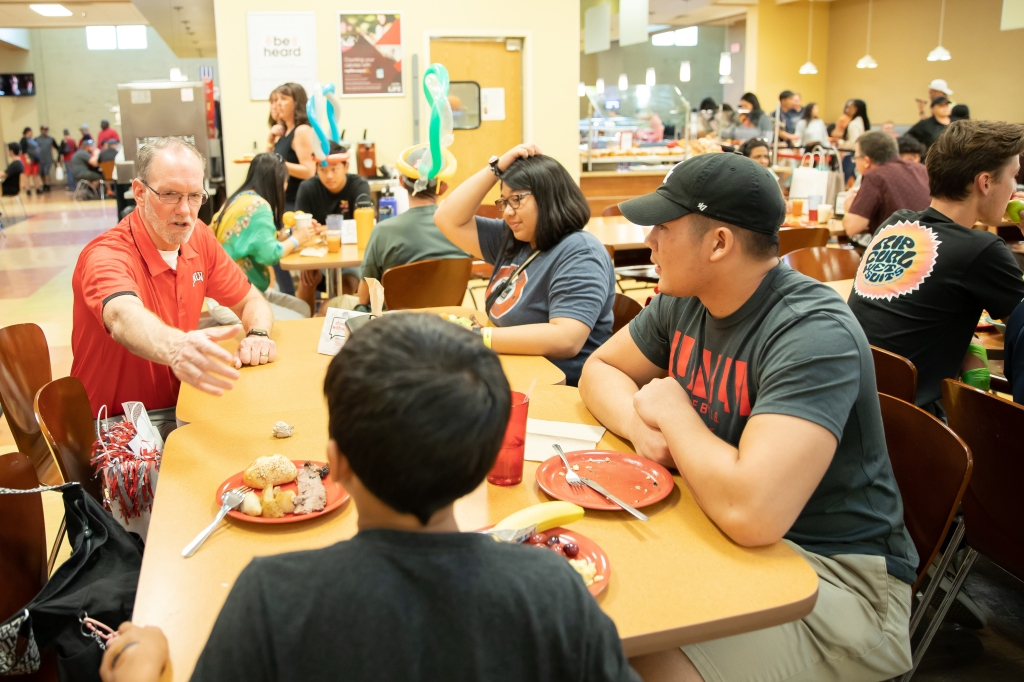 Parent and Family Brunch October 5, 2019 (Jenny Mann / UNLV Photo Services)